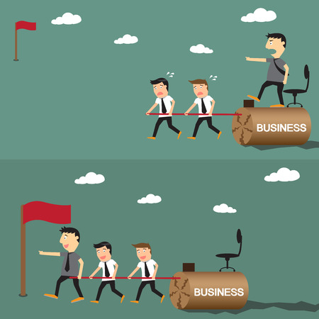 When you think about what it means to be a boss, you probably think about leadership qualities. But being a boss doesn't necessarily mean that person is also a leader.