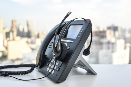 VoIP phone and headset for your business